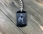 Pet photo necklace • Pe...