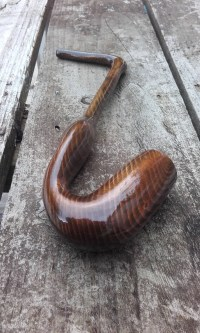 11 Gandalf Pipe With Gauze. Long Wooden Smoking Pipe