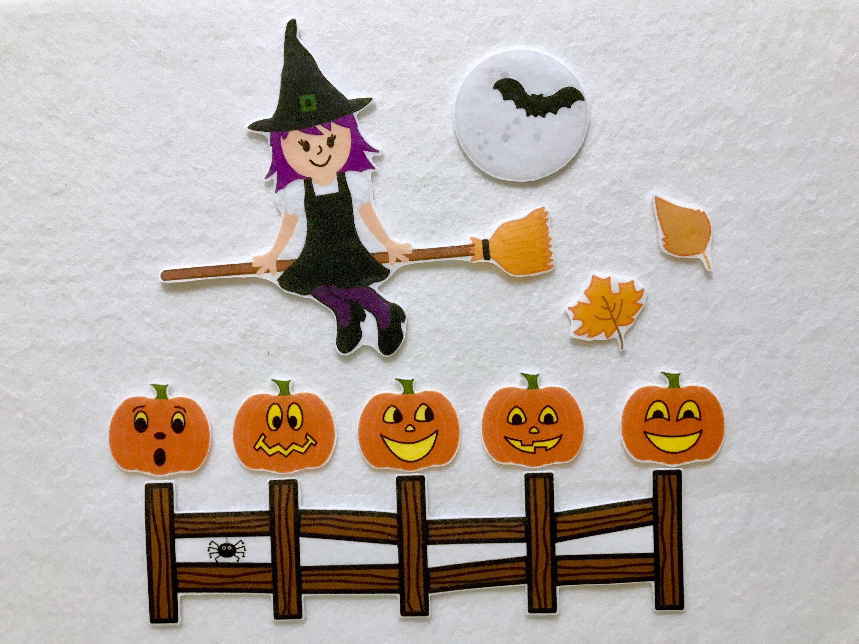 Five Little Pumpkins Felt Story Song Flannel Board Stories