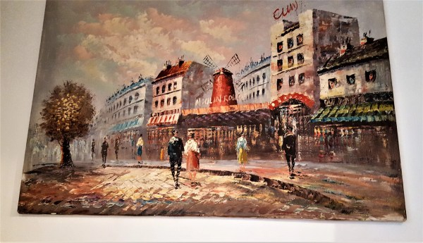 Impressionist Painting Of Famous Theme French Art