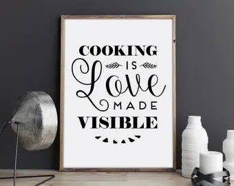 Download Kitchen quotes | Etsy