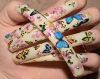 Extra long nails | Etsy