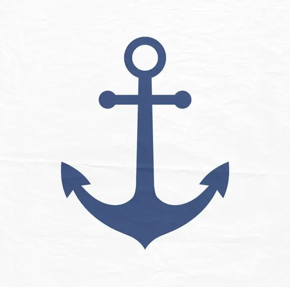 Download Anchor SVG for Silhouette Cameo svgs for Cricut silhouette