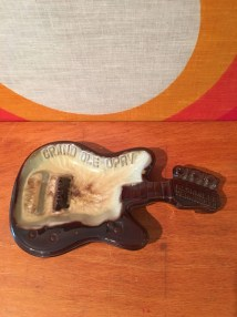 Vintage Grand Ole Opry Guitar Shaped Ashtray Souvenir