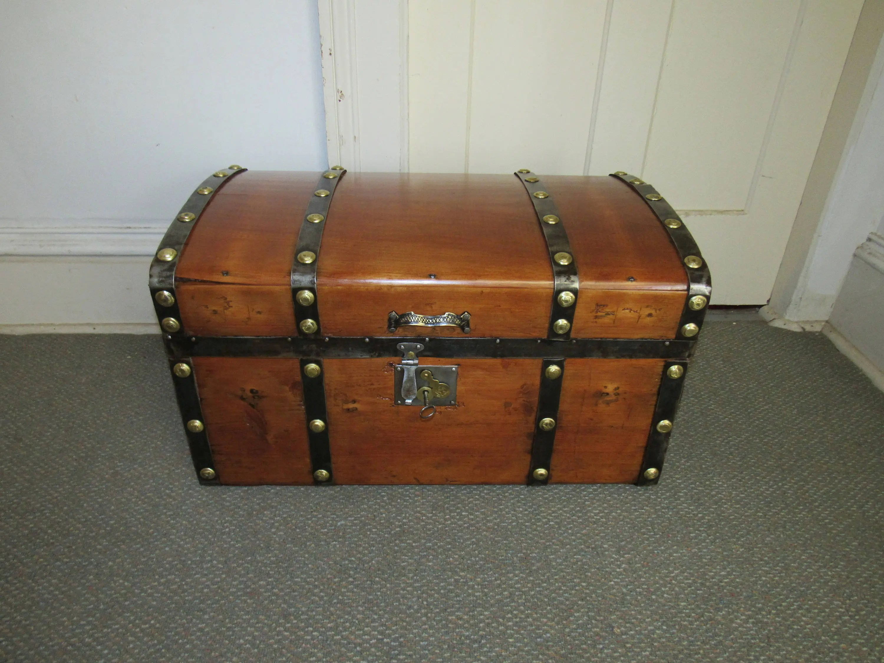 Stagecoach trunk  Etsy