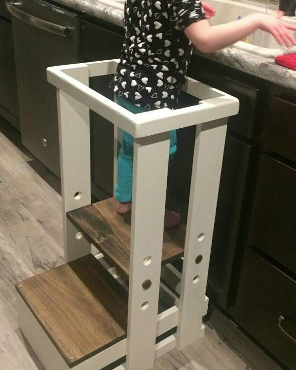 Safe Toddler Stool Child Safety Kitchen Mommy'