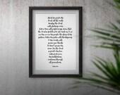 Psalm 100 Christian Cross...
