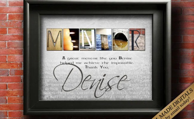 Mentor Gift Digital Thank You Mentor Gifts Mentor Quotes