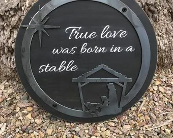 Download True love was born in a stable shirt