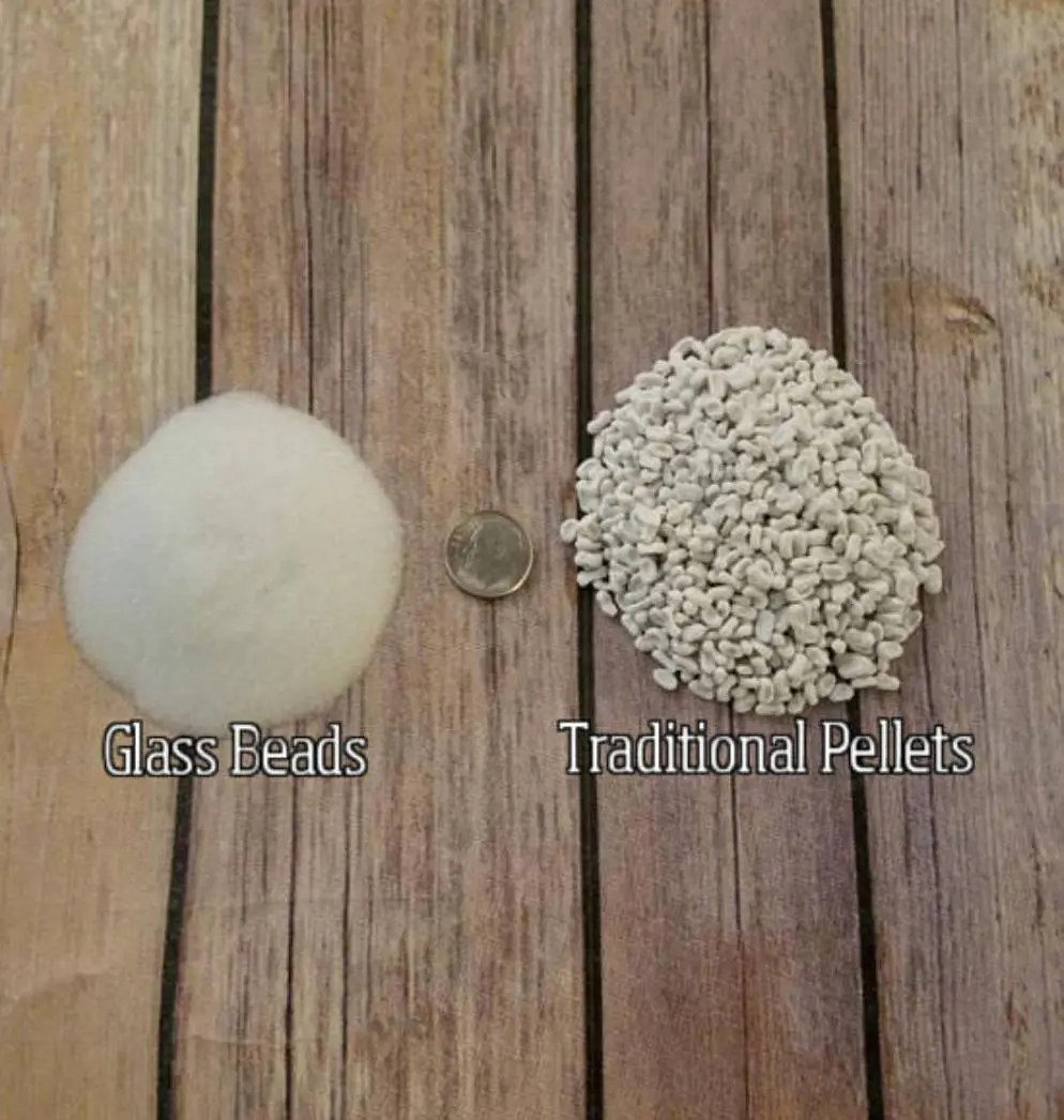 GLASS BEAD filling for making your own weighted blanket DIY Weighted Blanket Filling Glass