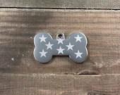Star pattern dog tag • ...
