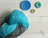 Hand dyed yarn Hades: Dis...