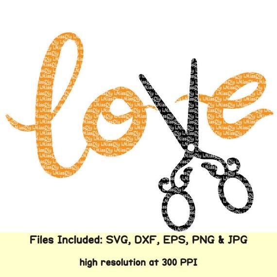 Download Love svg Hair stylist svg dresser salon hairdresser
