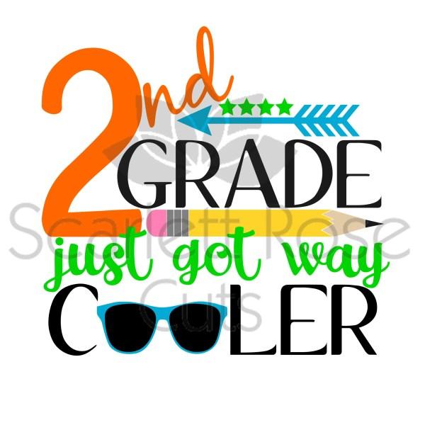 School Svg Grade Cooler 1st