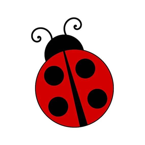 ladybug bug graphics svg dxf eps