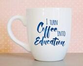 Funny teacher mug, Teache...