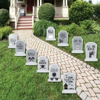 Funny Tombstones - Graveyard Tombstone Shaped Lawn ...