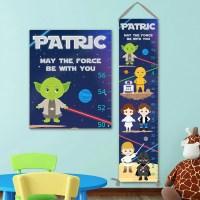 Star Wars Growth Chart - bStar Wars Kids Art, Star Wars ...