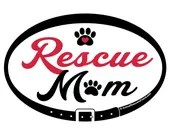 DECAL - Rescue Mom - Euro...