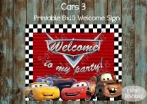Disney Cars 3 Birthday Party Ideas