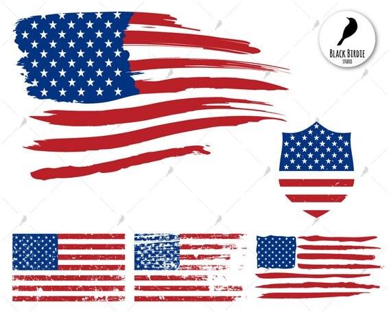 flag svg distressed