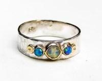 Opal promise ring | Etsy