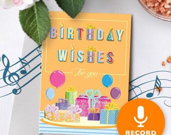 Custom Birthday Card Etsy