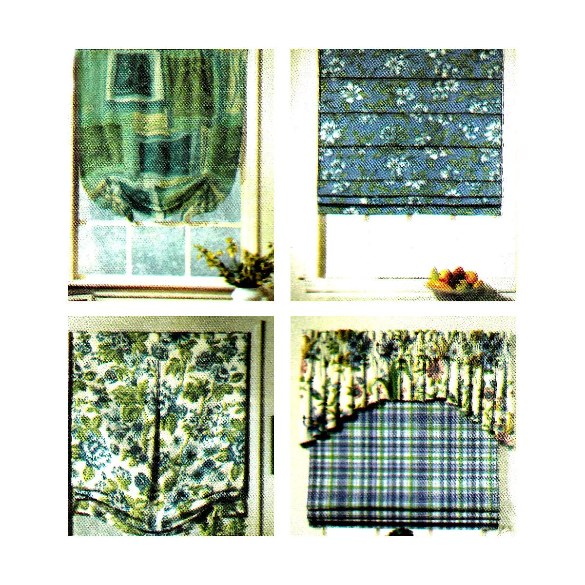 Curtain Sewing Pattern D S Valance Window Treatment