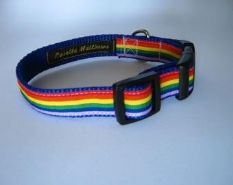 Gay Pride Dog Collar Etsy