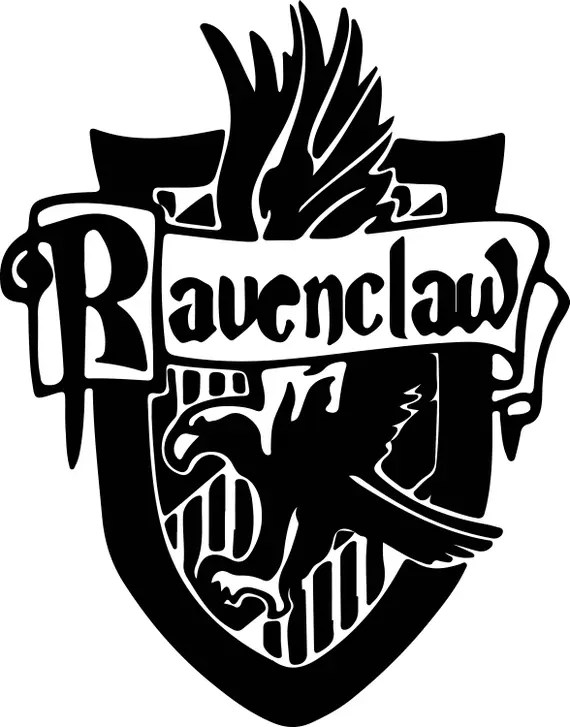 Download Harry Potter Ravenclaw Svg Files Silhouettes Dxf Files Cutting