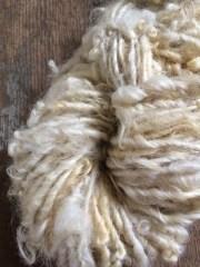 creamy white lincoln wool locks
