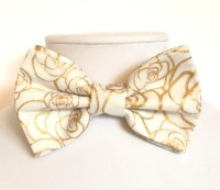 Gold bow tie   Etsy
