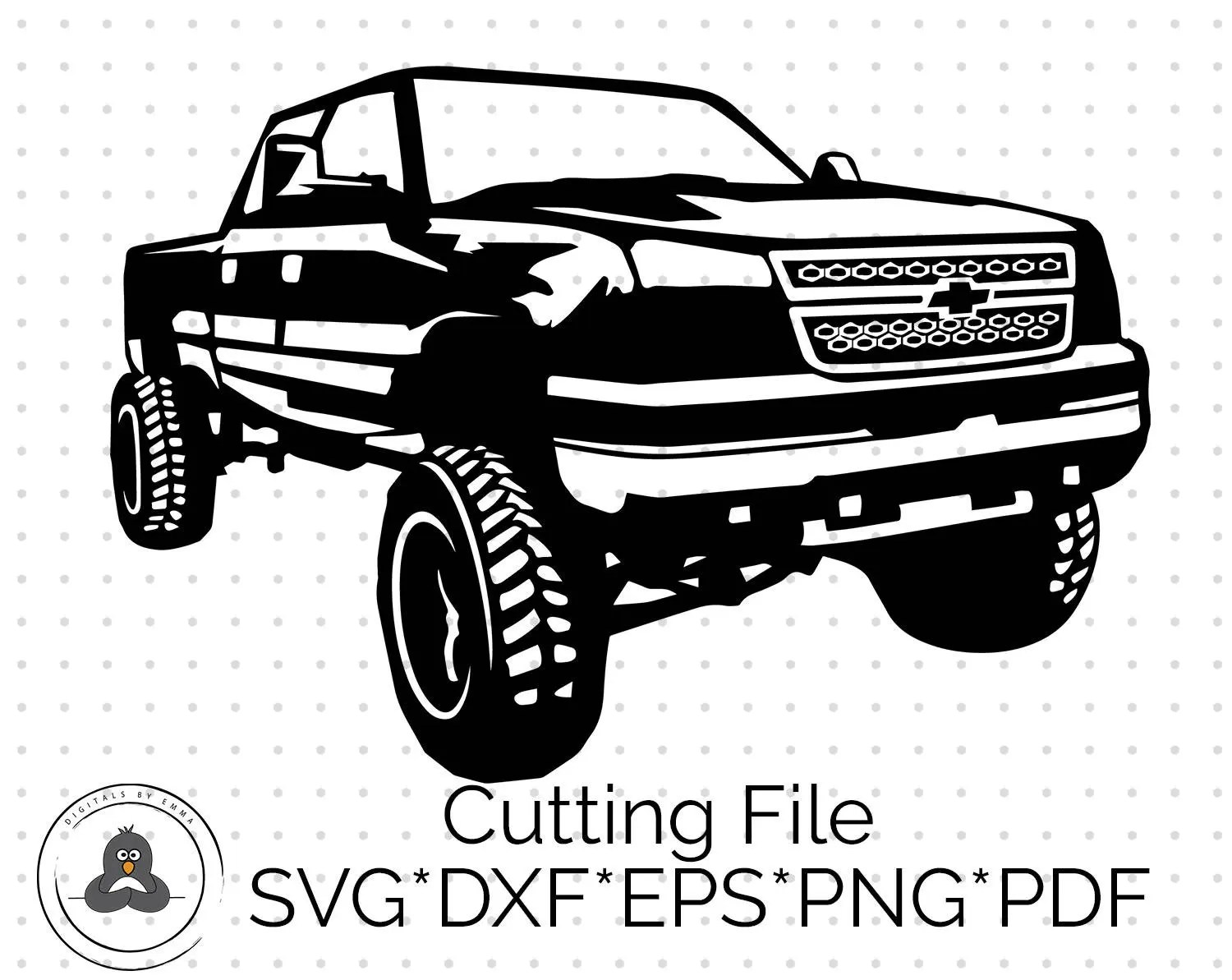 Chevy Svg Chevy Truck SVG Truck Cutting File Chevy Truck