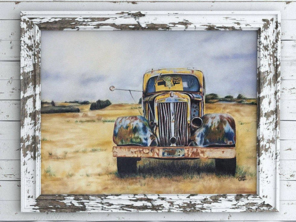 Rusty Truck. Original Pri...