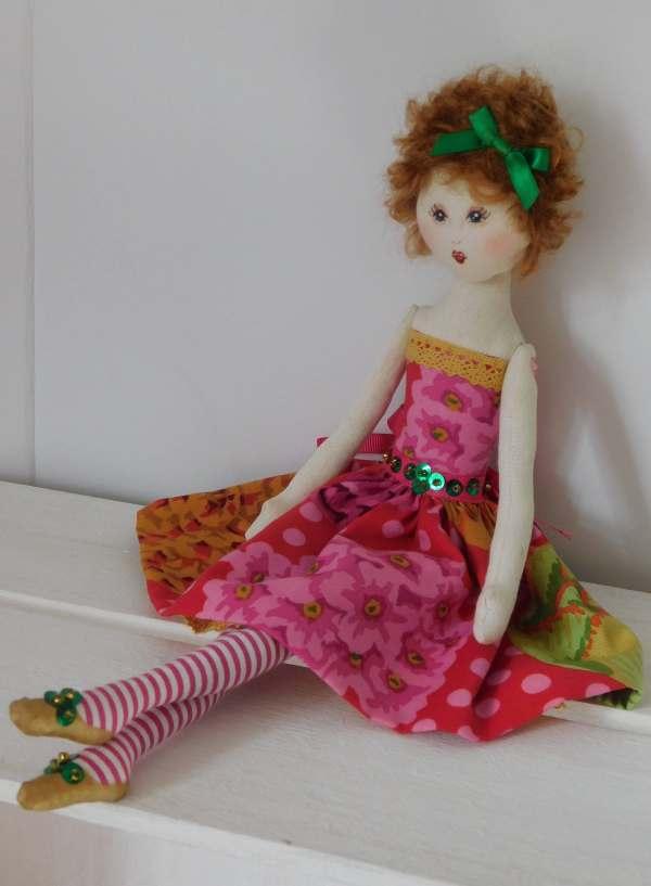 Rag Doll Art Dolls Fabric Cloth