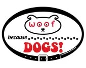 DECAL - Because DOGS - Eu...