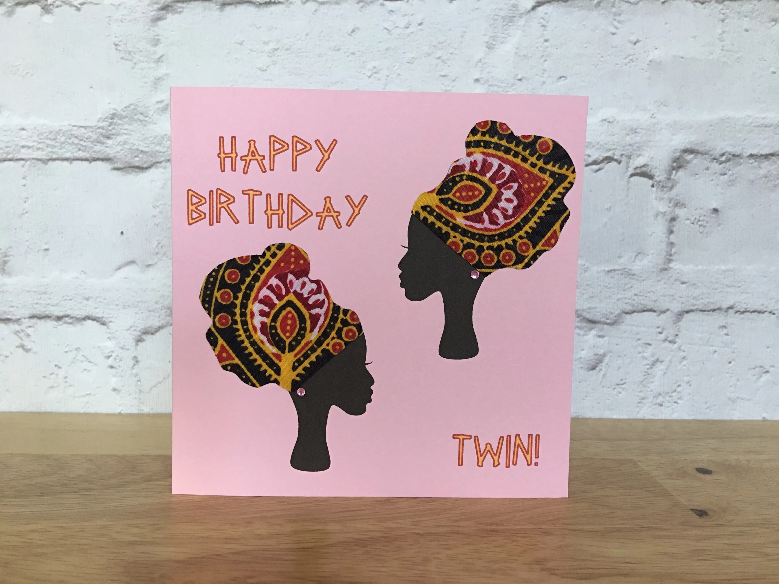 Twin Birthday Cards Etsy