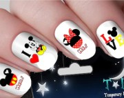 disney nail decals nails