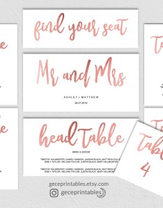 Il xn also rose gold seating chart template wedding printable plan rh catchmyparty