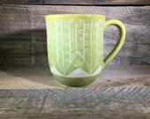 Carved Ceramic Mug/Teacup...