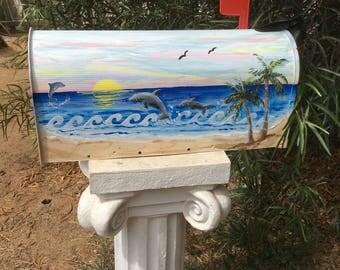 palm tree mailbox