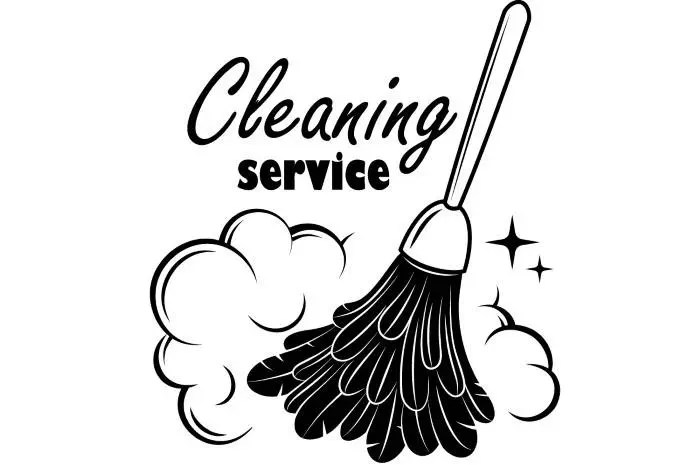 Cleaning Logo #1 Maid Service Housekeeper Housekeeping
