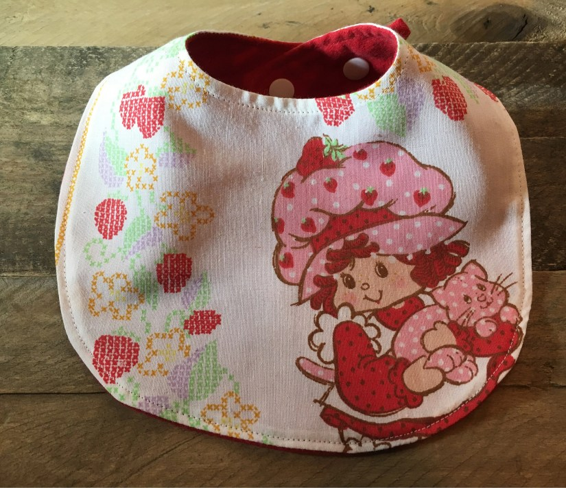 Strawberry Shortcake Bib ...