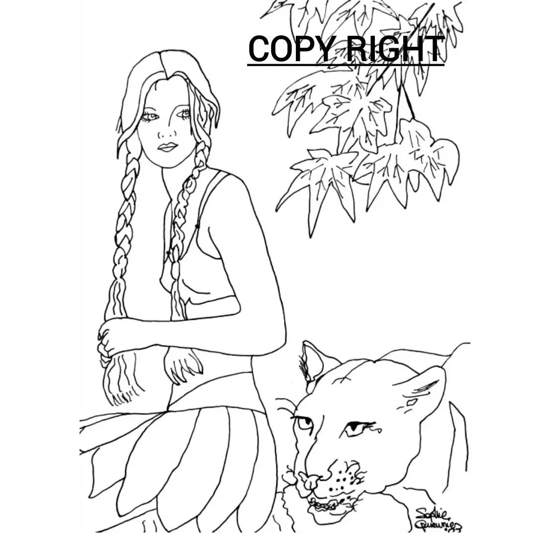 Instant Download Print or Color in this lovely Art Christian