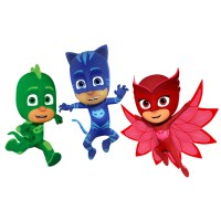 PJ Masks | clip art | nursery decor | party invitations ...