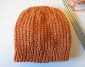Rice Stitch Beanie Hat & ...