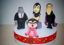 Hotel Transylvania Halloween Cake