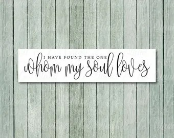 Download Whom my soul loves | Etsy
