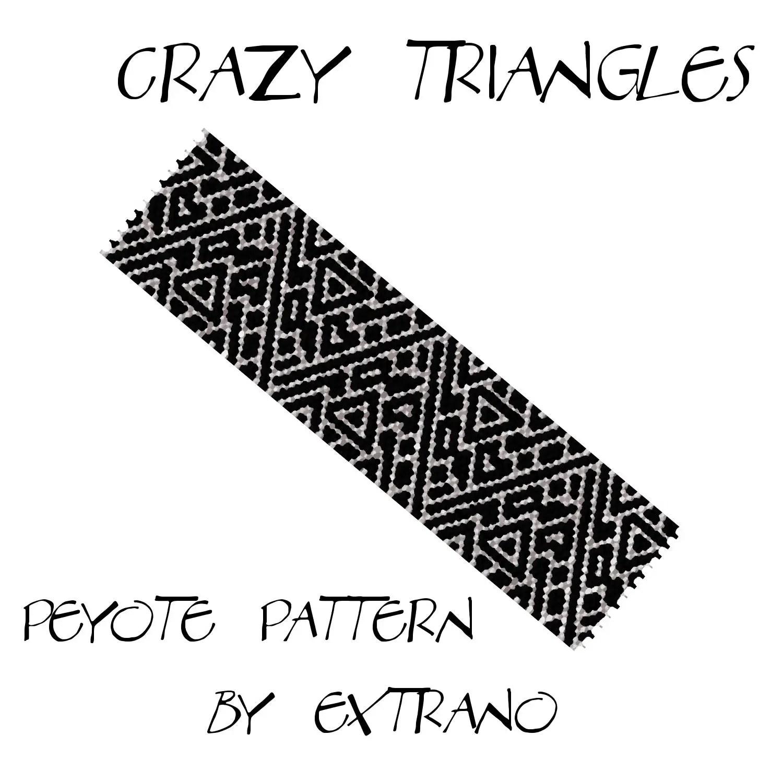 Peyote pattern bracelet pattern peyote bracelet uneven