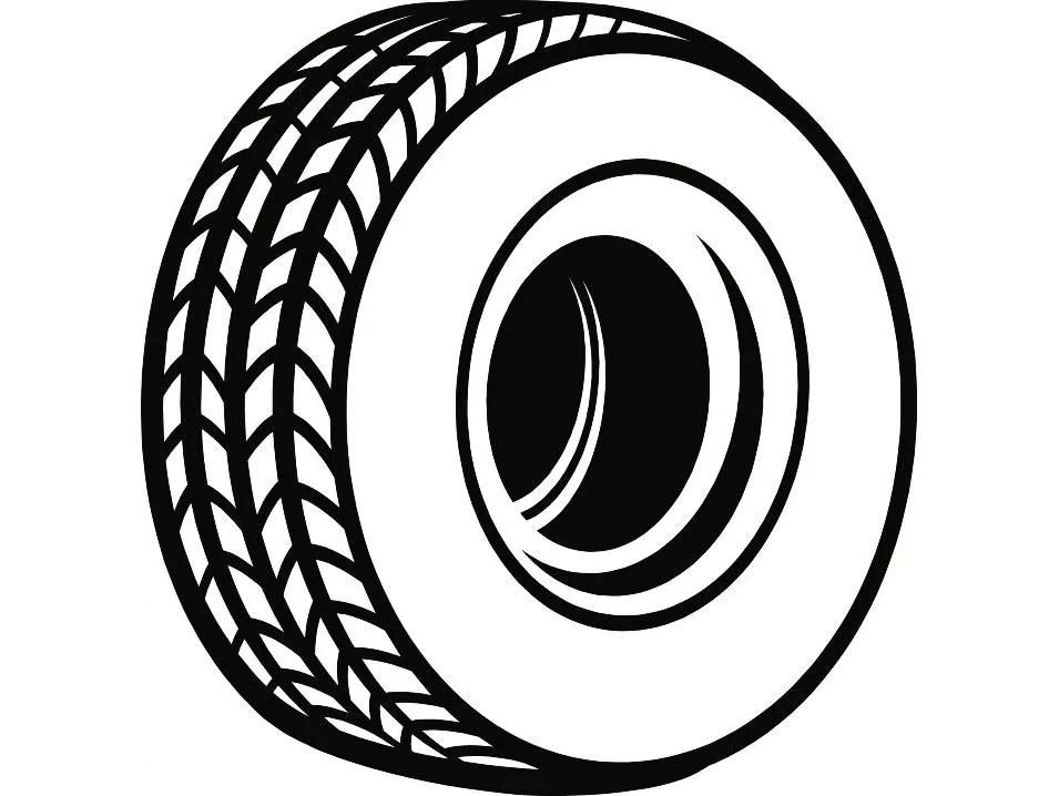 Tire #1 Rim Wheel Mechanic Engine Repair Service Shop